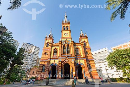 Fachada da Igreja de São José (1902)  - Belo Horizonte - Minas Gerais (MG) - Brasil