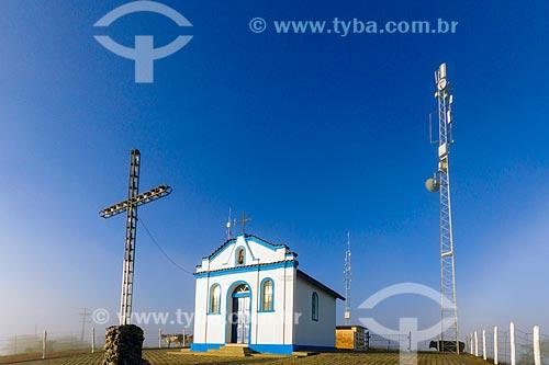 Fachada da Capela de Santa Rita - também conhecida como Capelinha  - Guarani - Minas Gerais (MG) - Brasil