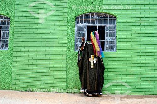 Fiel da Comunidade Religiosa Vale do Amanhecer  - Brasília - Distrito Federal (DF) - Brasil