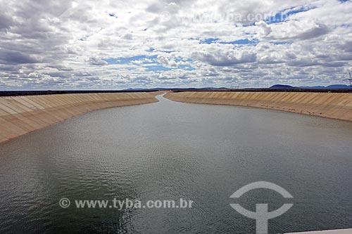 Canal de irrigação do Projeto de Integração do Rio São Francisco com as bacias hidrográficas do Nordeste Setentrional  - Cabrobó - Pernambuco (PE) - Brasil