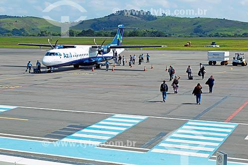 Área de embarque do Aeroporto Regional Presidente Itamar Augusto Cautieiro Franco  - Goianá - Minas Gerais (MG) - Brasil