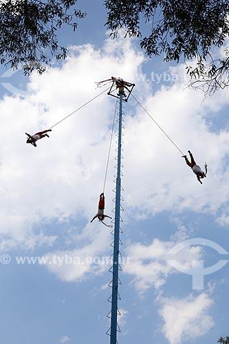 Show dos Voladores de PaPlanta (Grupo de acrobacias)  - Cidade do México - Distrito Federal - México