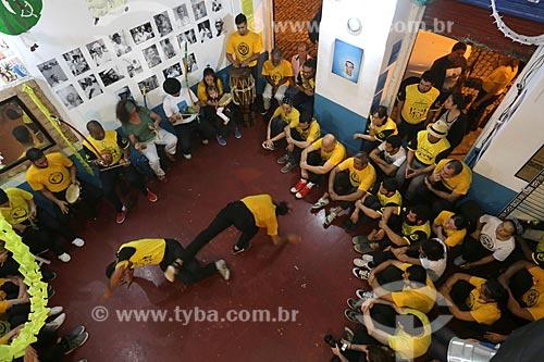 Roda de Capoeira no FicaRio - Fundação Internacional de Capoeira Angola no Rio de Janeiro  - Rio de Janeiro - Rio de Janeiro (RJ) - Brasil