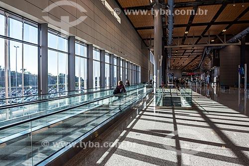 Área de desembarque do Aeroporto Internacional de Belo Horizonte-Confins - Tancredo Neves  - Belo Horizonte - Minas Gerais (MG) - Brasil