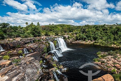 Cachoeira Grande na Serra do Cipó  - Santana do Riacho - Minas Gerais (MG) - Brasil