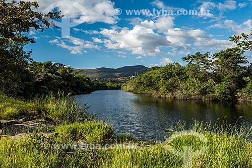 Rio Cipó próximo à Cachoeira Grande na Serra do Cipó  - Santana do Riacho - Minas Gerais (MG) - Brasil