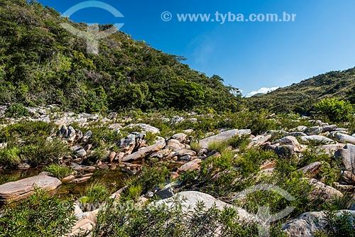 Vista do Rio Cipó na Serra do Cipó  - Santana do Riacho - Minas Gerais (MG) - Brasil