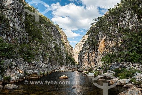 Cânion das Bandeirinhas no Parque Nacional da Serra do Cipó  - Jaboticatubas - Minas Gerais (MG) - Brasil
