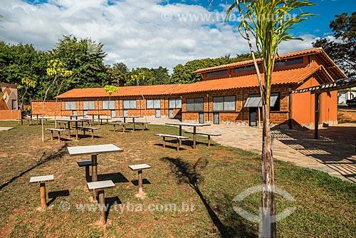 Praça no povoado da Vila do Cipó  - Santana do Riacho - Minas Gerais (MG) - Brasil