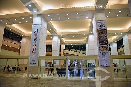 Interior do Centro Cultural da Caixa Econômica Federal  - Rio de Janeiro - Rio de Janeiro (RJ) - Brasil