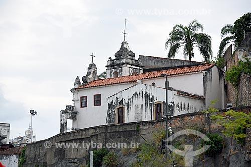 Vista da Igreja de Nossa Senhora da Saúde à partir da Porto Maravilha  - Rio de Janeiro - Rio de Janeiro (RJ) - Brasil