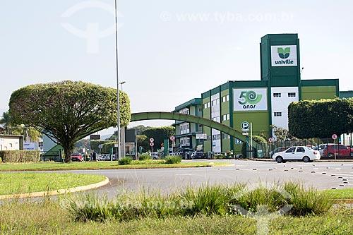 Vista do campus da Universidade da Região de Joinville - UNIVILLE  - Joinville - Santa Catarina (SC) - Brasil
