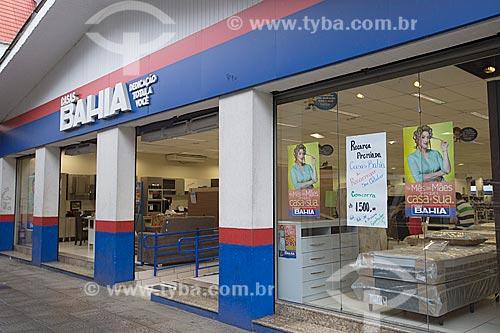 Loja da rede Casas Bahia na Estação Rodoviária Harold Nielson  - Joinville - Santa Catarina (SC) - Brasil