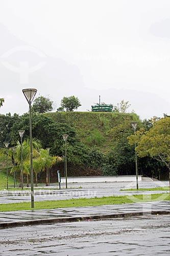 Sambaqui Morro do Ouro no Parque da Cidade de Joinville  - Joinville - Santa Catarina (SC) - Brasil