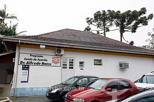 Prédio do Programa Saúde da Família no Hospital Misericórdia  - Blumenau - Santa Catarina (SC) - Brasil