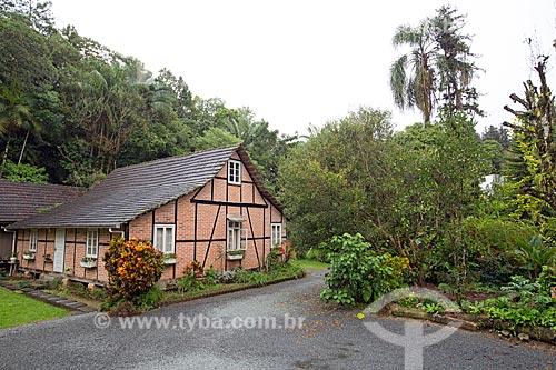 Casa Hein (1911) - que hoje abriga a Happs Chocolate caseiro  - Blumenau - Santa Catarina (SC) - Brasil