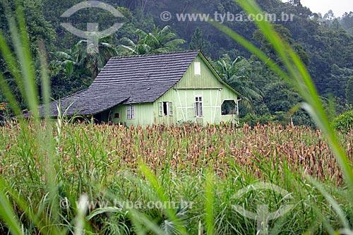 Casa na zona rural da Vila Itoupava  - Blumenau - Santa Catarina (SC) - Brasil