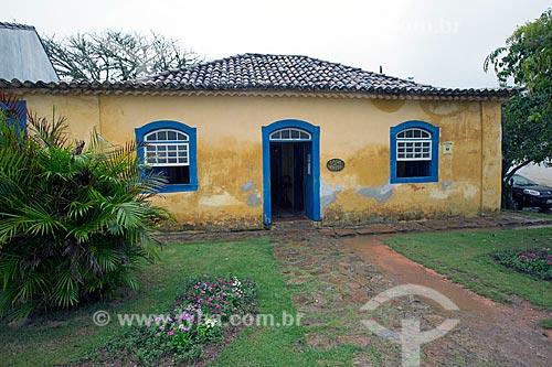 Fachada da Casa de Anita Garibaldi  - Laguna - Santa Catarina (SC) - Brasil
