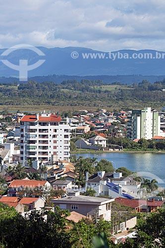 Vista da Lagoa do Violão  - Torres - Rio Grande do Sul (RS) - Brasil