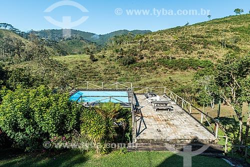 Piscina em casa no distrito de Visconde de Mauá  - Resende - Rio de Janeiro (RJ) - Brasil