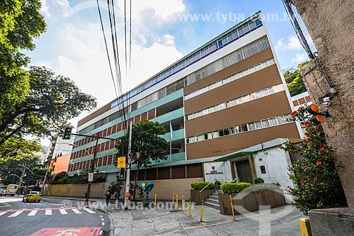 Fachada do Colégio São Vicente de Paulo  - Rio de Janeiro - Rio de Janeiro (RJ) - Brasil