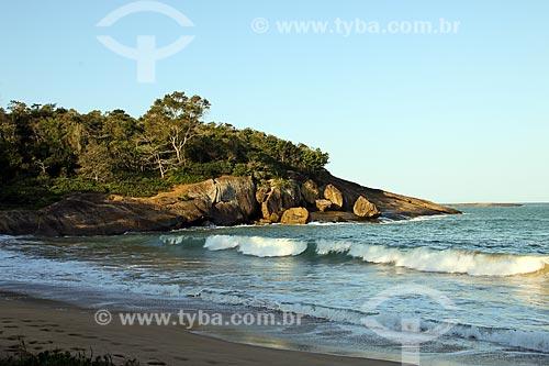 Entardecer na Praia dos Padres  - Guarapari - Espírito Santo (ES) - Brasil