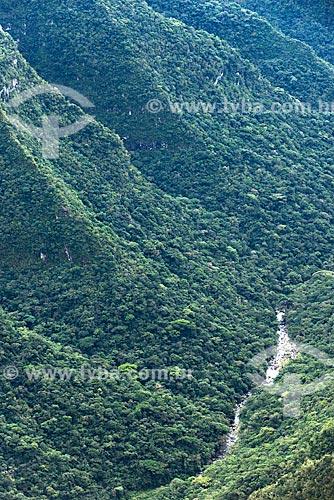 Vista geral do Parque Nacional dos Aparados da Serra  - Cambará do Sul - Rio Grande do Sul (RS) - Brasil