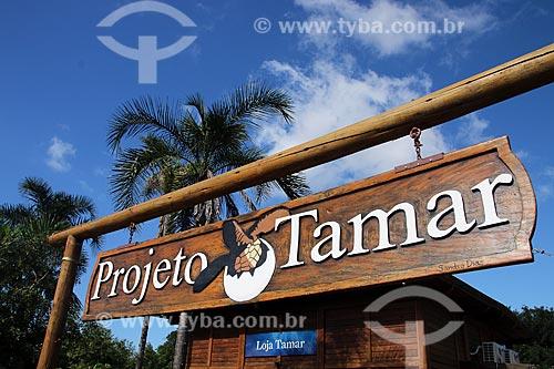Sede do Projeto TAMAR na Praça do Papa  - Vitória - Espírito Santo (ES) - Brasil