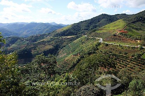 Trecho da Rodovia BR-262 próximo à Marechal Floriano  - Marechal Floriano - Espírito Santo (ES) - Brasil