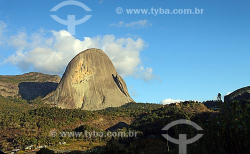 Vista do Pico da pedra azul no Parque Estadual da Pedra Azul  - Domingos Martins - Espírito Santo (ES) - Brasil