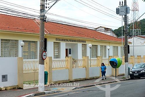 Fachada da Escola Municipal Presidente Getúlio Vargas  - Guararema - São Paulo (SP) - Brasil