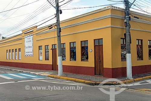 Fachada da Casa da Memória Antônia Guilherme Franco (Dona Nini)  - Guararema - São Paulo (SP) - Brasil