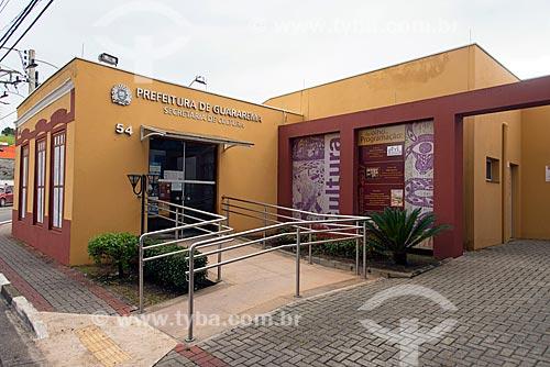Fachada da Secretaria de Cultura de Guararema  - Guararema - São Paulo (SP) - Brasil