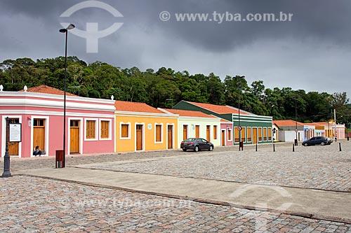 Vista de casarios no Pátio dos Imigrantes  - Guararema - São Paulo (SP) - Brasil