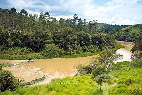 Vista do Rio Paraíba do Sul  - Santa Branca - São Paulo (SP) - Brasil