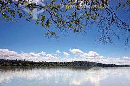 Vista do encontro das águas do Rio Tocantins e Rio do Sono  - Bom Jesus do Tocantins - Tocantins (TO) - Brasil