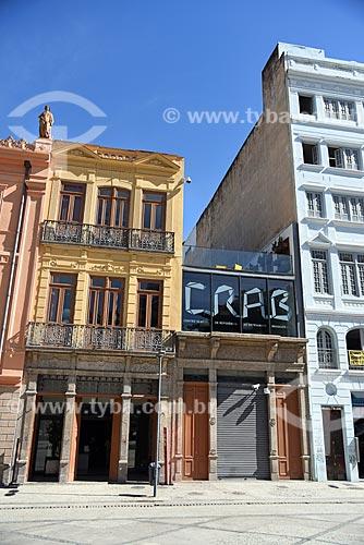 Fachada do Centro de Referência do Artesanato Brasileiro (CRAB) na Praça Tiradentes  - Rio de Janeiro - Rio de Janeiro (RJ) - Brasil
