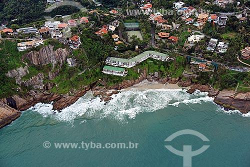 Foto aérea de Praia da Joatinga  - Rio de Janeiro - Rio de Janeiro (RJ) - Brasil
