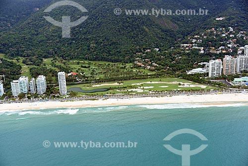 Foto aérea do Gávea Golf and Country Club  - Rio de Janeiro - Rio de Janeiro (RJ) - Brasil