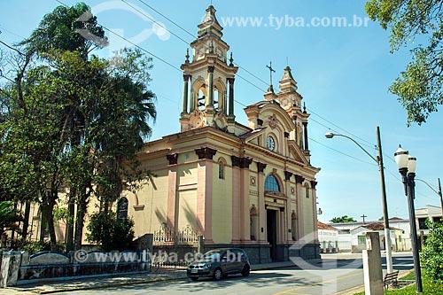 Fachada da Basílica do Senhor Bom Jesus de Tremembé (1673)  - Tremembé - São Paulo (SP) - Brasil