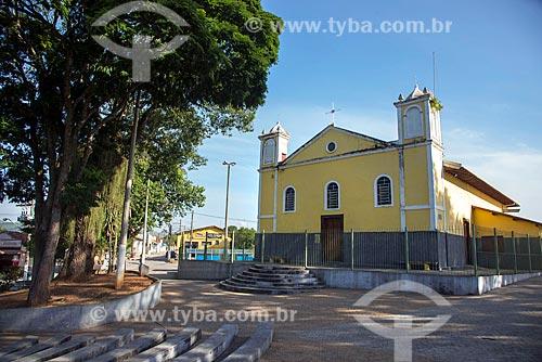 Fachada da Paróquia Nossa Senhora da Ajuda (1705)  - Caçapava - São Paulo (SP) - Brasil