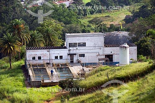 Vista da Estação de Tratamento de Água de Guararema  - Guararema - São Paulo (SP) - Brasil