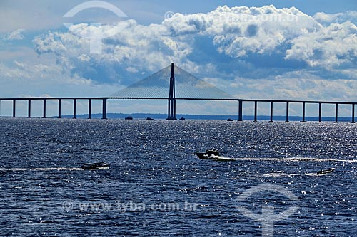 Vista da Ponte Rio Negro (2011)  - Manaus - Amazonas (AM) - Brasil