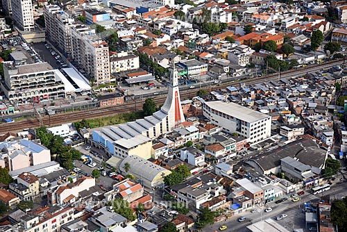 Foto aérea da Igreja Nossa Senhora da Imaculada Conceição  - Rio de Janeiro - Rio de Janeiro (RJ) - Brasil