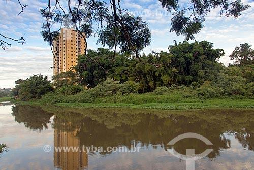 Vista do Rio Paraíba do Sul  - Jacareí - São Paulo (SP) - Brasil