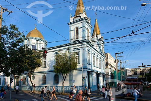 Fachada lateral da Igreja de Nossa Senhora do Bonsucesso  - Jacareí - São Paulo (SP) - Brasil