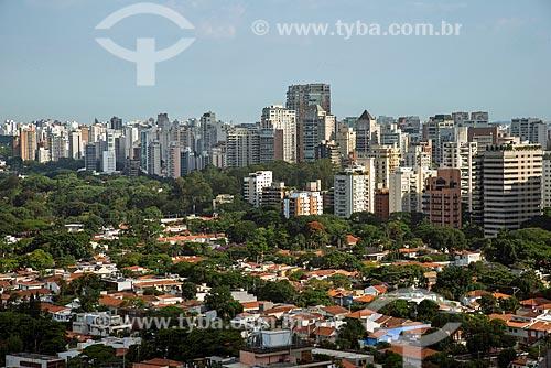 Vista geral do bairro Vila Nova Conceição  - São Paulo - São Paulo (SP) - Brasil