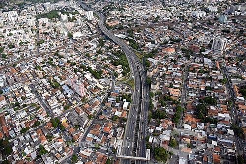 Foto aérea da Linha Amarela  - Rio de Janeiro - Rio de Janeiro (RJ) - Brasil
