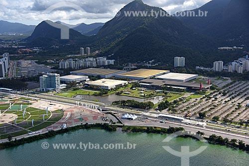 Foto aérea do Riocentro  - Rio de Janeiro - Rio de Janeiro (RJ) - Brasil