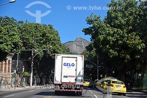 Tráfego na Rua Jardim Botânico  - Rio de Janeiro - Rio de Janeiro (RJ) - Brasil